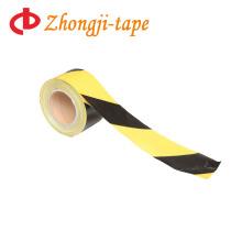 7,5 см желтый и черный предупреждение ленты PE