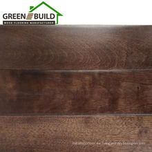 Piso de piso de baloncesto de madera dura de arce de 18 mm de chocolate