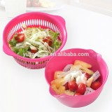 plastic laundry basket plastic fruit vegetable storage basket