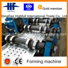 Máquina de producción Full-Automatic del tablón del andamio del hierro