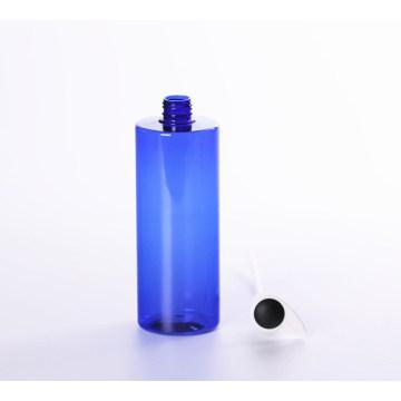 Botella plástica de la bomba de la loción azul para el cosmético (NB20001)