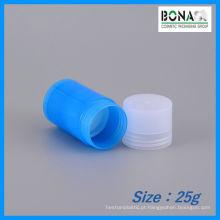 Garrafa de desodorante 25g mecânica para embalagens de cosméticos
