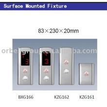 Painel de operação de desembarque de elevador (LOP, COP), peças de elevação