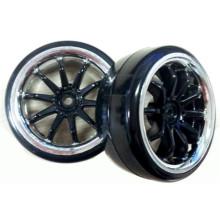 Pneus pour voiture de Drift, roue pour voiture Rc 1/10