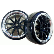 Pneus de carro de Drift, roda para carro Rc 1/10