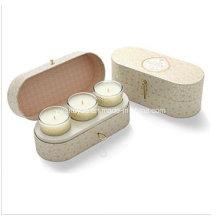 3 peças Scented Soy Wax Jar Candle Set