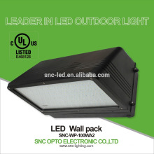 cUL listed UL Wall pack Full cutoff LED lights with 5 years warranty