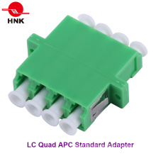 LC Quad Singlemode APC Standard Plastic Fiber Optic Adapter