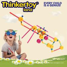 2015 Brinquedos de construção Brinquedo de inteligência de montagem automática para crianças