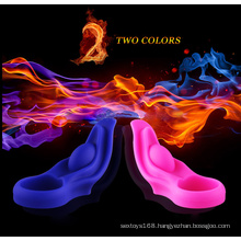 New Silicone Vibrating Penis Ring Sex Toy for Man