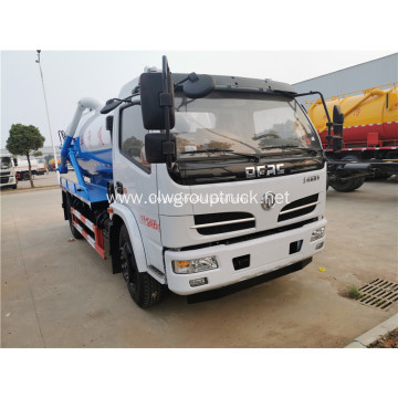 Euro 5 diesel Dongfeng tanker vacuum suction truck