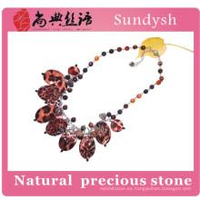 collar de joyería de concha de mar natural hecho a mano natural de moda