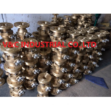 Flange Nickel Aluminum Bronze Ball Valve