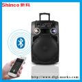 Ce Certificate Factory HiFi Portable Bluetooth FM Radio Speaker
