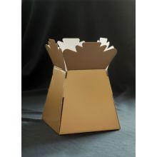 Emballage de boîte à fleurs Emballage cadeau de bouquet de fleurs