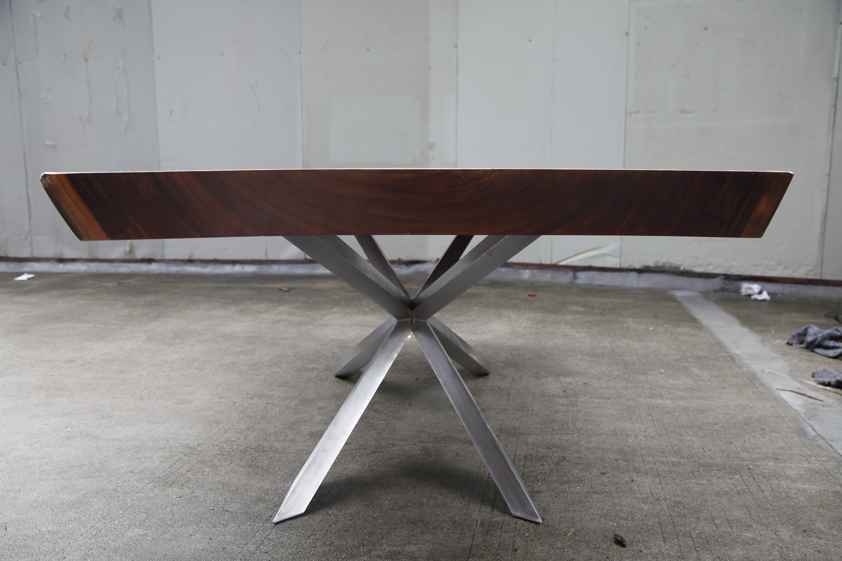 Stainless Base Dining Table