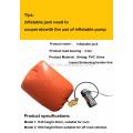 NJW-21 4 Toneladas NUEVA LLEGADA Bolsa de aire del gato del extractor de aire Gato de aire del coche inflable (certificado del CE)