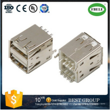 Rj Connector USB Connector Double USB Connector