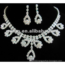 Latest bridal wedding jewelry set (GWJ12-433)