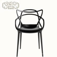 2018 новый стиль заводская цена ресторанная мебель pp кошка ухо стул
