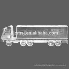 personalize caminhões de cristal, modelos de cristal, modelos de caminhão de cristal
