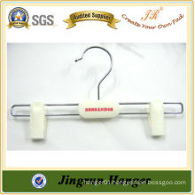 New Arrival White Kids Clip Hanger in Plastic