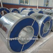 Bobina de acero galvanizado de buena calidad 0.18mm 0.28mm