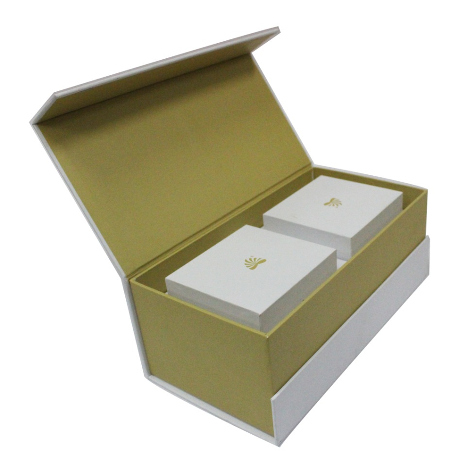 Book Shape Cardboard Rigid Gift Box
