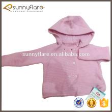 Venta de suéter de cachemir de bebé China tejida lindo