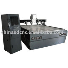 wood door cnc router / six heads / engraving machine JK-1618