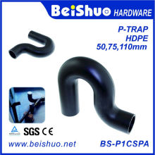 Kunststoff-HDPE P-Trap Abwasser-Armaturen
