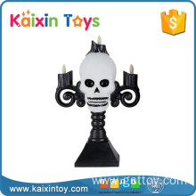 Party Decoration Skull Candlestick Plastic Popular Horror Toy