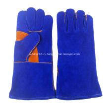 Перчатки из жаропрочной / огнестойкой кожи