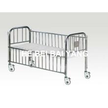 Детская кровать с нержавеющей стали