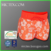 New style fashion polyester beach blank board shorts pants OEM
