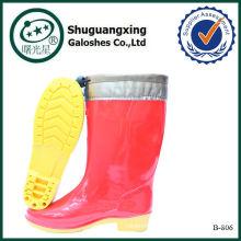 обувь женщины кремового цвета загрузки B-803