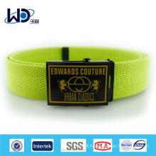 2015 Wholesale custom mens canvas belts