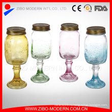 Пользовательские 16 унций Glass Mason Jars Оптовые кружки с ручкой