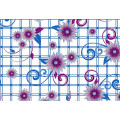 New Design PVC Transparent Printed Pattern Tablecloth (TT00284)