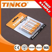 Litio hierro batería Li-FeS2 tamaño AA 2900MAH con buena calidad
