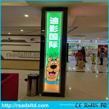 Guter Preis Acryl LED Zeichen Poster Rahmen