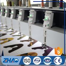 2 couleurs 15 têtes tapant machine à broder informatisée en Chine