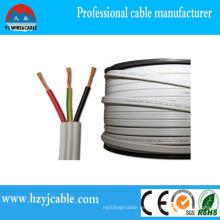 Accesorios de cableado eléctrico 6242y Flat Gray Twin & Earth Cable