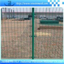 Galvanisierter Vetex-Zaun benutzt im Bau