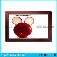 Bild Anzeige innen Aluminium Snap Frame LED Slim Lichtkasten