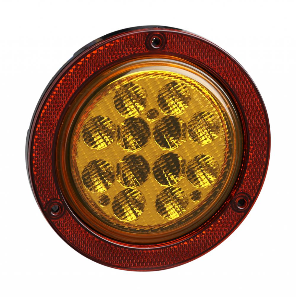 "4 ""Emark / DOT LED Camion Indicateur Réflecteur Lampes"