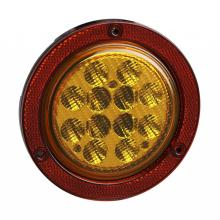 "4"" Emark/DOT LED Truck Trailer Indicator Reflector Lamps"