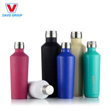 Vase forme isolée # 304 bouteille d'eau en acier inoxydable