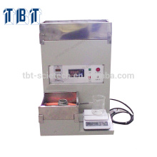 T-BOTA máquina de prueba de permeabilidad de agua de cerámica porosa