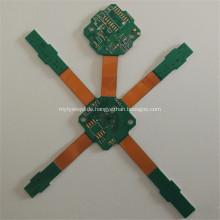 Immersion Gold 4-Schicht-Flex-Hartleiterplatte